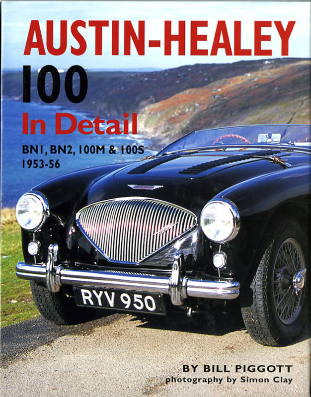 Austin-Healey 100 in detail BN1, BN2, 100M & 100S 1953-56