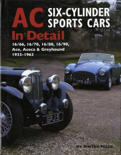AC six-cylinder sports cars in Detail