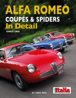 Alfa Romeo Coupés & Spiders in Details since 1945