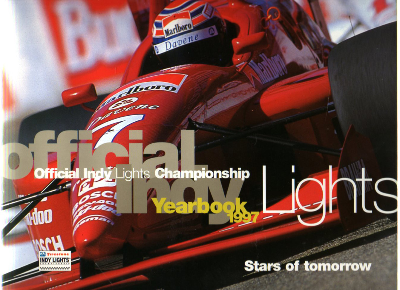 Official Indy Lights Championship Yearbook 1997 - Stars of tomorrow