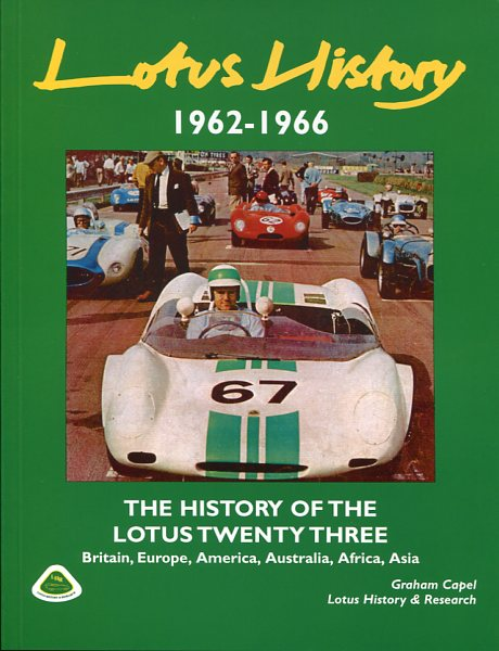 Lotus History 1962-1966 - The history of the Lotus Twenty Three