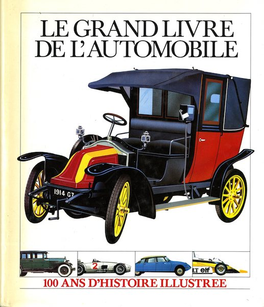 Le Grand Livre de l'Automobile (SCRIB149)