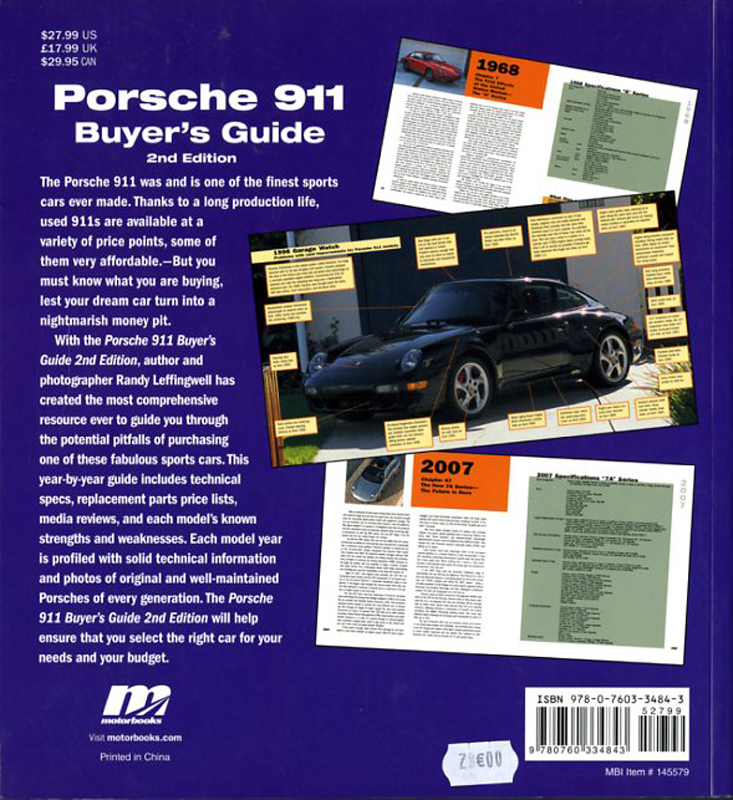 Porsche 911 buyer's guide