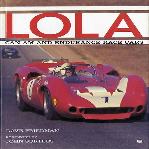 Lola Can-Am and endurance race cars