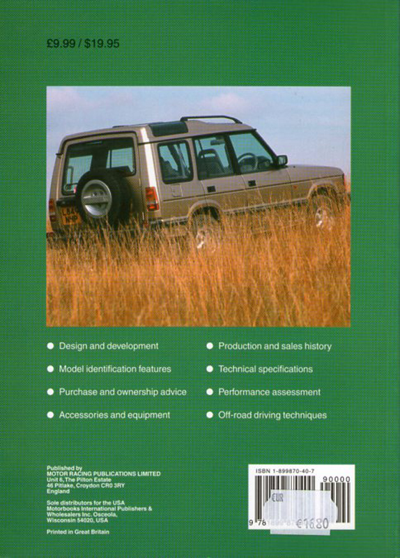 Land Rover Discovery 1989 - 1998
