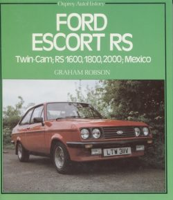 Ford Escort RS. Twin-Cam RS1600, 1800, 2000 Mexico (K004)