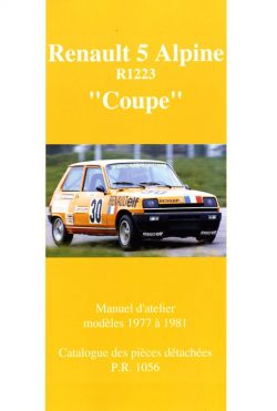 "Renault 5 Alpine ""Coupe"""" - R1223"