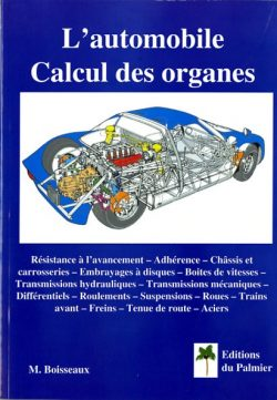 Automobile. Le calcul des organes