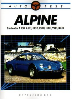 Alpine Berlinette A108, A110, 1300, 1500, 1600, V85, 1800