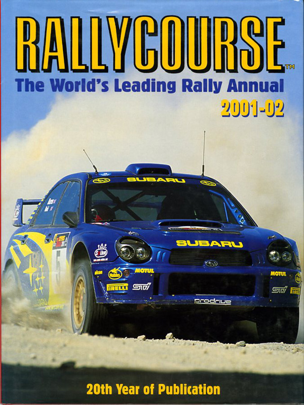 RALLYCOURSE The World's Leading Rally Annual - 2001-02