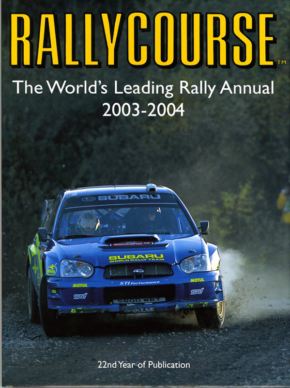 RALLYCOURSE, The World's Leading Rally Annual