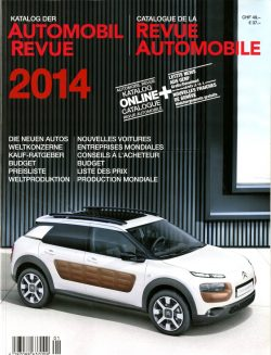 Catalogue de la Revue Automobile 2014