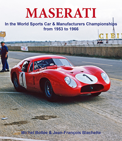 Maserati - In the World Sports Car & Manufacturers Championships from 1953 to 1966