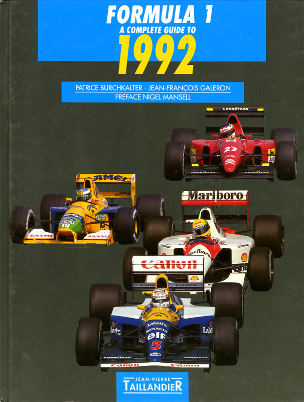 Formula 1 A complete guide to 1992