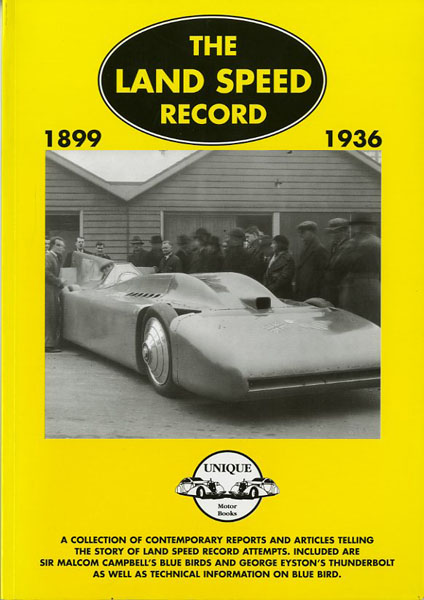 The land speed records 1899-1936