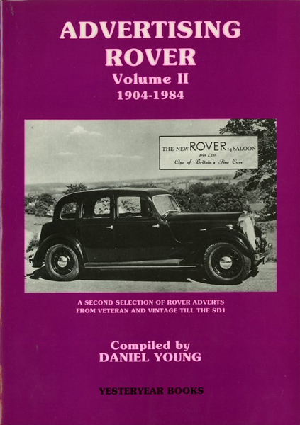 Advertising Rover Volume II 1904-1984